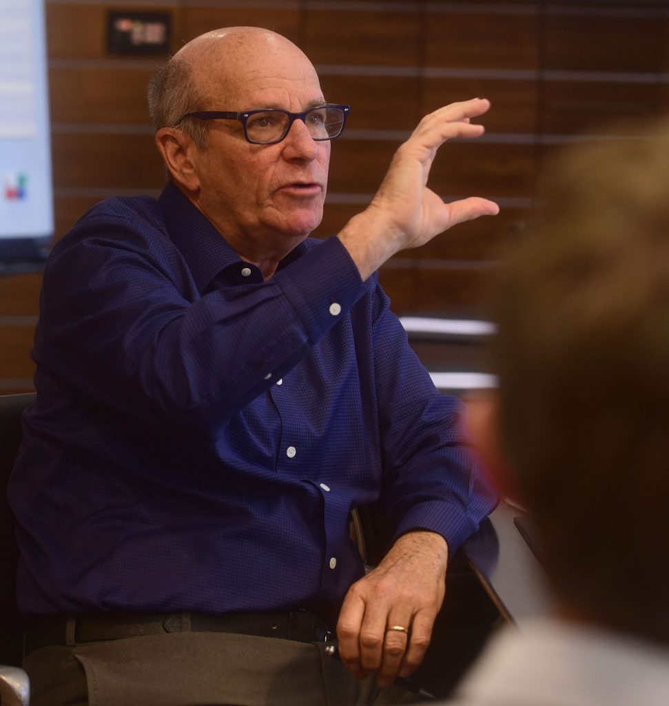 Tutor David Isaacs, writer of Mad Men, Frasier, Cheers and other dramas